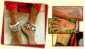 Tattoo, Art of Body Painting in Rajasthan