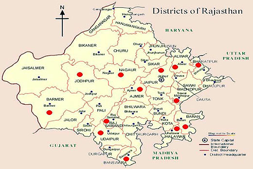 Rajasthan Maps Maps of Rajasthan Road Map Travel Map of Rajasthan – Maps Travel Distance