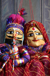 Puppets,Puppets in Rajasthan