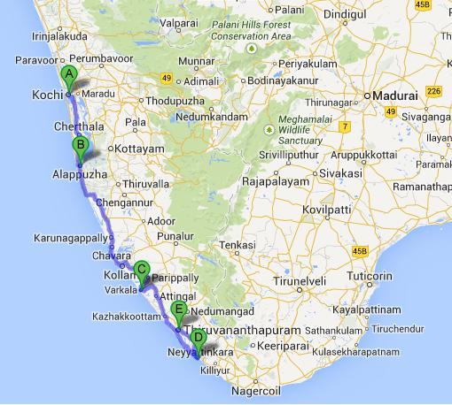 Kerala Tour, Kerala Backwaters Tour, 6 Days Kerala ...