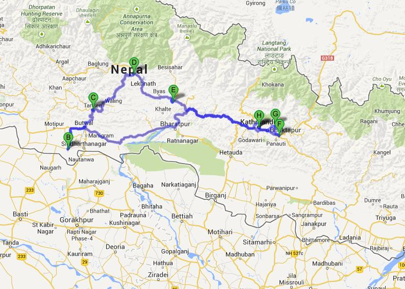 Nepal Group Tour 16 Days Nepal Group Tour