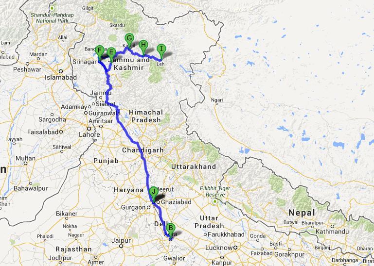 Kashmir And Ladakh Group Tour 16 Days Kashmir And Ladakh