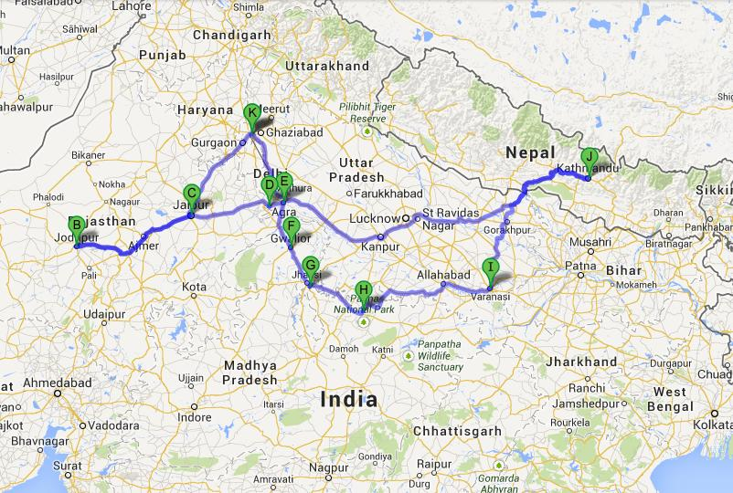 Rajasthan And North India Tour Visit Rajasthan And North