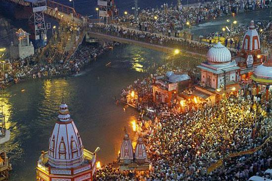 Har Ki Pauri, Holy River Ganges Puja,  Haridwar, Uttarakhand