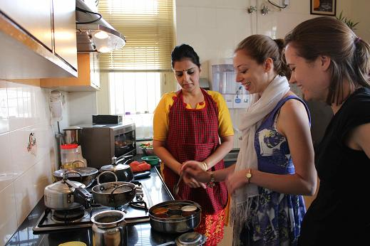 d82577c04 Individual Indian Cookery Classes in India - Students and Cooking Instructor