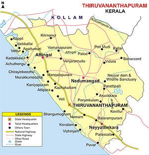 Trivandrum, Thiruvananthapuram, Trivandrum Information, Trivandrum ...
